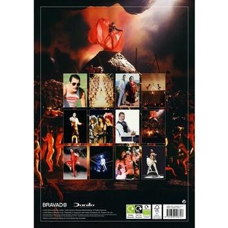 2021 Kalender - FREDDIE MERCURY, NNM, Queen