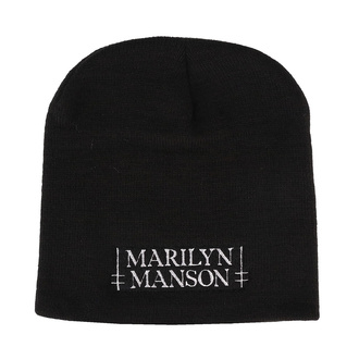 Beanie Marilyn Manson - Logo - RAZAMATAZ, RAZAMATAZ, Marilyn Manson