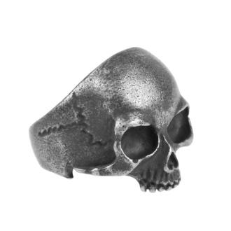 Ring ETNOX - Gun Metal Skull, ETNOX