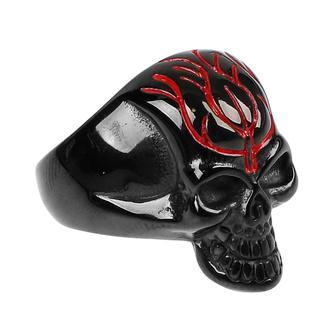Ring ETNOX - Black Skull, ETNOX