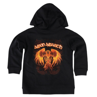 Kapuzenpullover für Kinder Amon Amarth - Burning Eagle, Metal-Kids