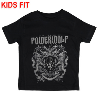 Kinder T-shirt Powerwolf - Crest, Metal-Kids, Powerwolf