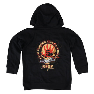 Kapuzenpullover für Kinder Five Finger Death Punch - Knucklehead, Metal-Kids, Five Finger Death Punch