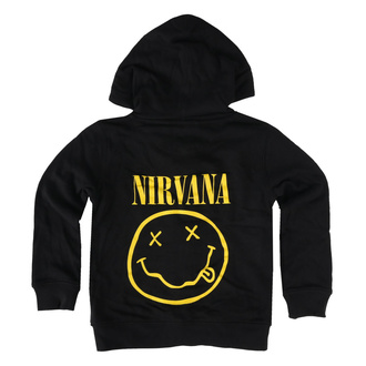 Kinder Kapuzenpullover Nirvana - Smiley, Metal-Kids, Nirvana