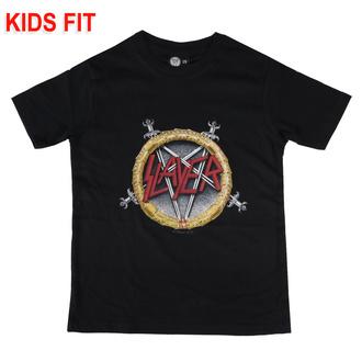Kinder T-shirt Slayer - Pentagram, Metal-Kids, Slayer