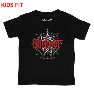 Kinder T-shirt Slipknot - Star Symbol, Metal-Kids, Slipknot
