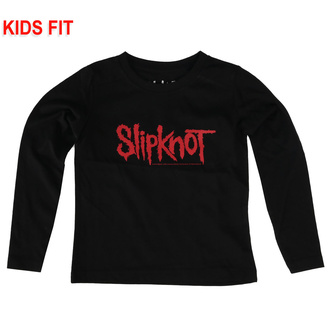 Kinder- T-shirt mit langen Ärmeln Slipknot - Logo, Metal-Kids, Slipknot