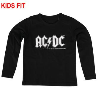 Kinder- T-shirt mit langen Ärmeln AC/DC - Logo, Metal-Kids, AC-DC