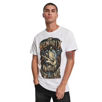 Herren T-Shirt Jimi Hendrix - Experience - weiß - MC504-white