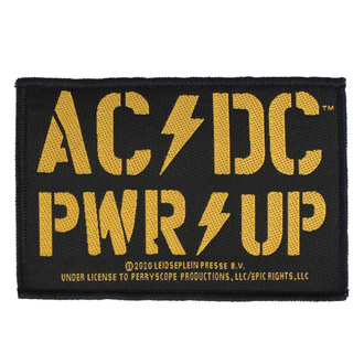 Patch Aufnäher AC / DC - POWER UP - RAZAMATAZ, RAZAMATAZ, AC-DC