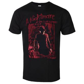 Herren T-shirt  Nightmare On Elm Street - Freddy Silhouette, BIL, Nightmare - Mörderische Träume