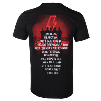Herren T-shirt AC/DC - Power Up - Track Leaf , BIL, AC-DC