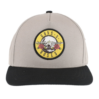 Kappe Cap Guns N' Roses - Circle Logo - SAND / BL - ROCK OFF, ROCK OFF, Guns N' Roses