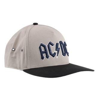 Kappe Cap AC / DC - Navy Logo - SAND / BL - ROCK OFF, ROCK OFF, AC-DC