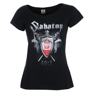 Damen T-Shirt SABATON - 40:1 - CARTON, CARTON