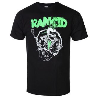 Herren T-shirt Rancid - SkeleTim Guitar - Schwarz, KINGS ROAD, Rancid