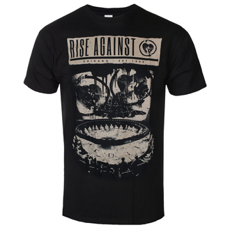 Herren T-shirt Rise Against - War Room - Schwarz, KINGS ROAD, Rise Against