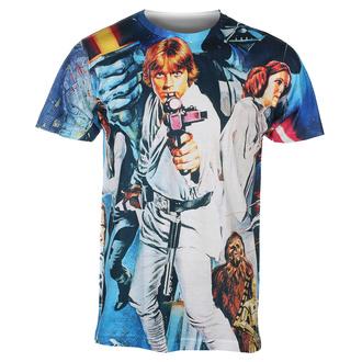 Herren T-Shirt Star Wars - Allover Retro - HYBRIS, HYBRIS, Star Wars