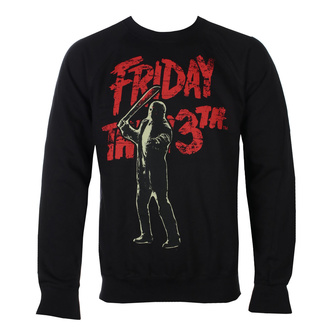 Herren Sweatshirt Friday The 13th - Jason Voorhees - Schwarz - HYBRIS, HYBRIS, Friday the 13th