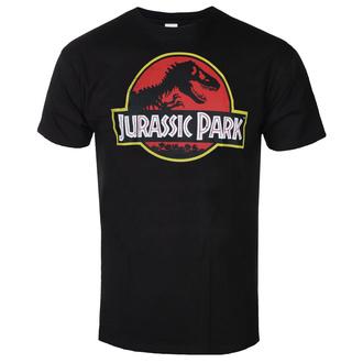 Herren T-Shirt Jurassic park - Distressed Logo - Schwarz - HYBRIS, HYBRIS, Jurassic Park