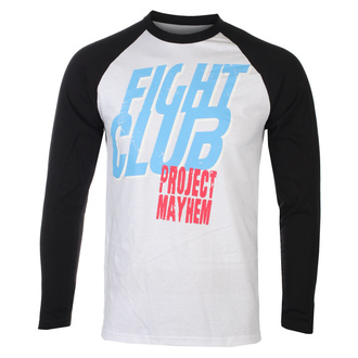 Herren Longsleeve Fight Club - Project Mayhem - Baseball - HYBRIS, HYBRIS, Fight Club