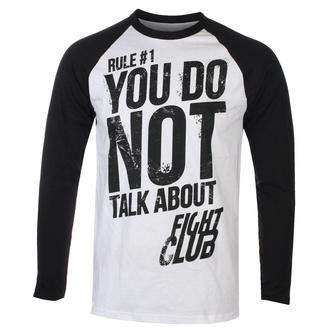 Herren Longsleeve Fight Club - Rule 1 Don´t Talk About Fight Club - HYBRIS, HYBRIS, Fight Club