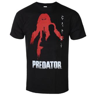 Herren T-Shirt Predator - Poster - Schwarz - HYBRIS, HYBRIS, Predator