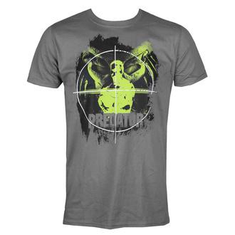 Herren T-Shirt Predator - Crosshair - Dunkelgrau - HYBRIS, HYBRIS, Predator