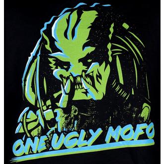 Herren Hoodie Predator - One Ugly MoFo - Schwarz - HYBRIS, HYBRIS, Predator