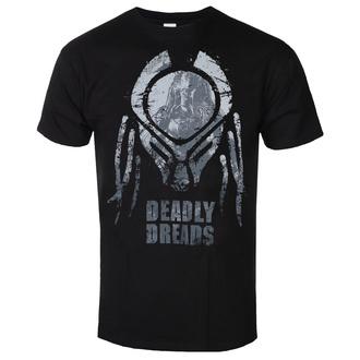 Herren T-Shirt Predator - Deadly Dreads Iconic - Schwarz - HYBRIS, HYBRIS, Predator