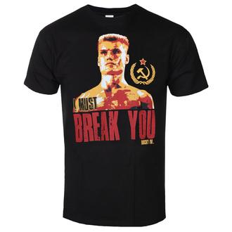 Herren T-Shirt Rocky - I Must Break You - Schwarz - HYBRIS, HYBRIS, Rocky