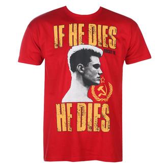 Herren T-Shirt Rocky - If He Dies, He Dies - Tangorot - HYBRIS, HYBRIS, Rocky