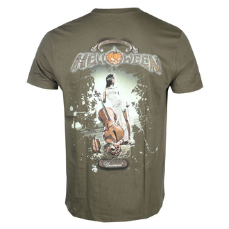 Herren T-Shirt HELLOWEEN - Unarmed - Khaki - NUCLEAR BLAST, NUCLEAR BLAST, Helloween