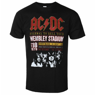 Herren T-Shirt AC/DC - Wembley '79 - ROCK OFF