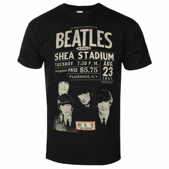 Herren T-Shirt Beatles - Shea '66, ROCK OFF, Beatles