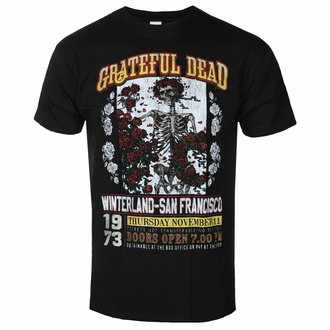 Herren T-Shirt Grateful Dead - San Francisco, ROCK OFF, Grateful Dead