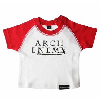 Kinder T-Shirt Arch Enemy - rot / Weiß - MER038