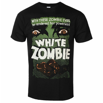 Herren T-Shirt WHITE ZOMBIE - POSTER - SCHWARZ - PLASTIC HEAD, PLASTIC HEAD, White Zombie