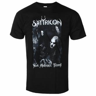 Herren T-Shirt SATYRICON - Dunkel Medieval Times - NAPALM RECORDS, NAPALM RECORDS, Satyricon