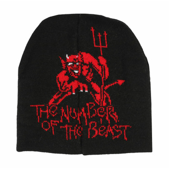 Mütze Iron Maiden - Number of the beast, LOW FREQUENCY, Iron Maiden