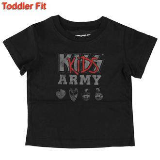 Kinder T-Shirt Kiss - Kids Army, ROCK OFF, Kiss