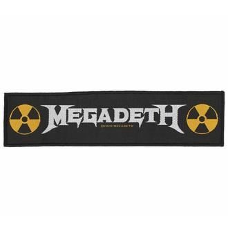 Patch MEGADETH - LOGO, RAZAMATAZ, Megadeth