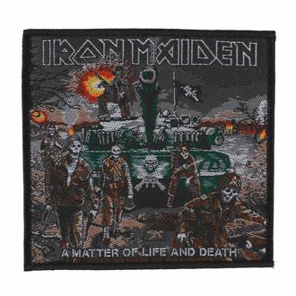 Patch IRON MAIDEN - A MATTER OF LIFE AND DEATH, RAZAMATAZ, Iron Maiden