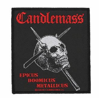 Patch CANDLEMASS - EPICUS DOOMICUS METAL LICUS, RAZAMATAZ, Candlemass