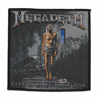 Patch MEGADETH - COUNTDOWN TO EXTINCTION, RAZAMATAZ, Megadeth