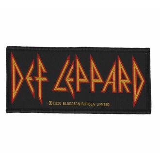 Patch DEF LEPPARD - LOGO, RAZAMATAZ, Def Leppard