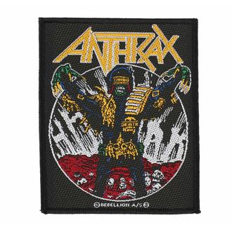 Patch ANTHRAX - JUDG E DEATH, RAZAMATAZ, Anthrax