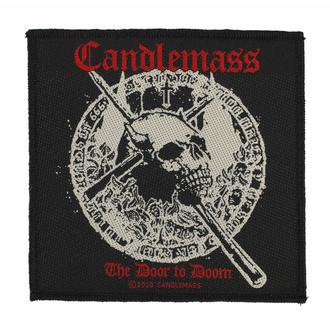Patch CANDLEMASS - THE DOOR TO DOOM, RAZAMATAZ, Candlemass