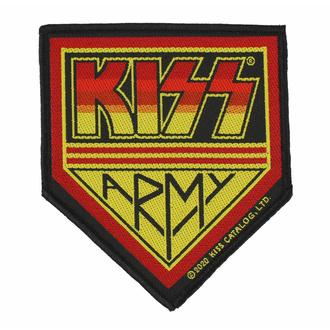 Patch KISS - KISS ARMY, RAZAMATAZ, Kiss