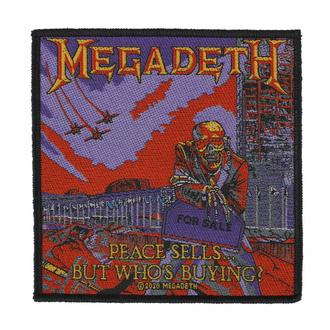 Patch MEGADETH - PEACE SELLS, RAZAMATAZ, Megadeth